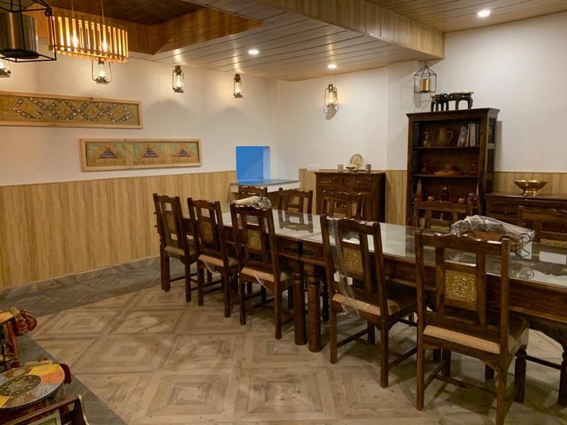 Best Dining is at Veda5 Ayurveda Wellness Center and Retreat in Tapovan Rishikesh India - Ayurveda Packages, Yoga Classes, Deluxe Hotel & Mountain Views